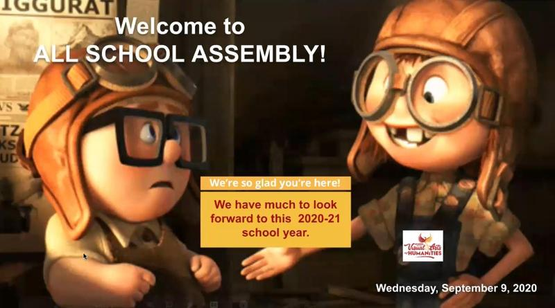 All School Assembly : September 9, 2020 Featured Photo