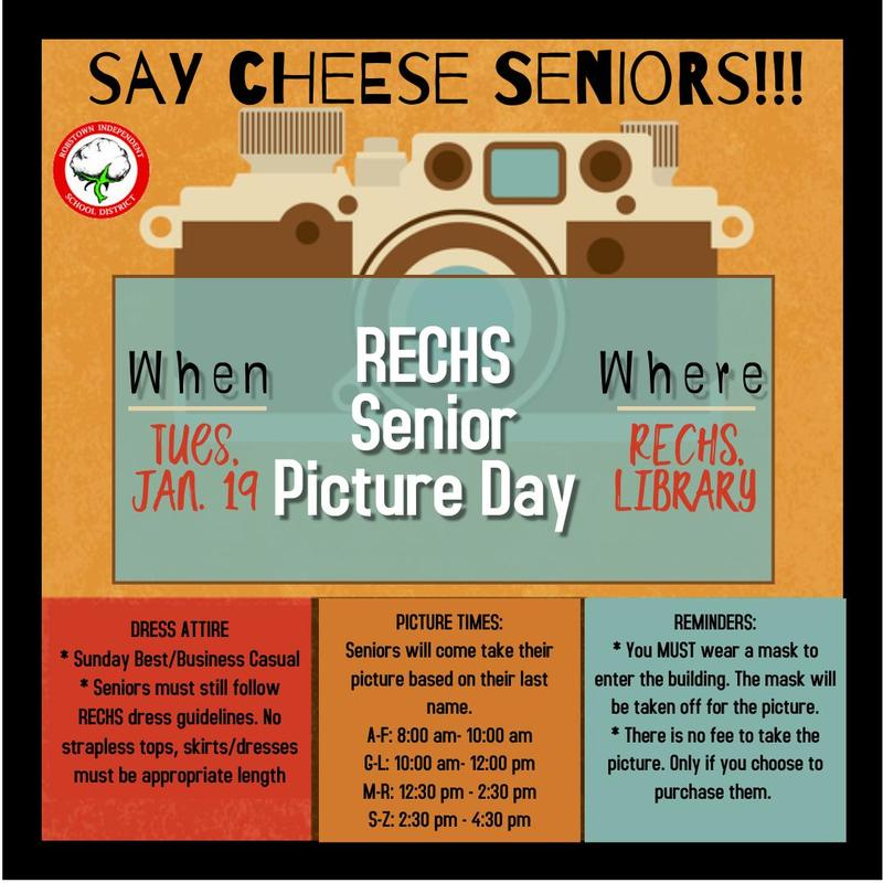 Senior Picture Day- January 19th Featured Photo