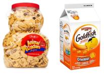 Graham Crackers and Goldfish Crackers
