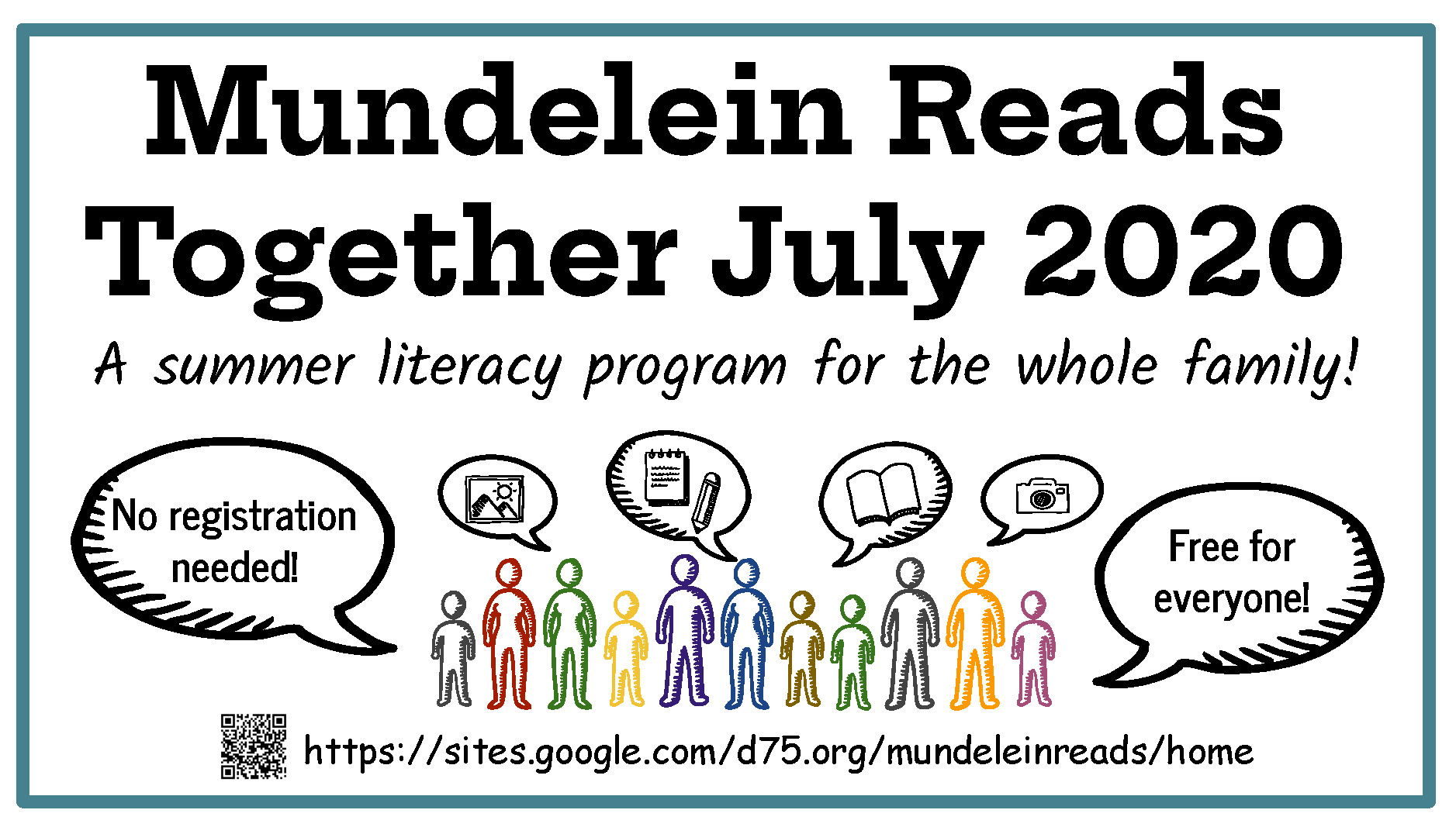 Mundelein Reading Graphic for July
