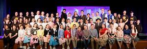 Photo of Roosevelt students performing in Bye Bye Birdie