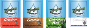 Zuberfizz sparkling water options