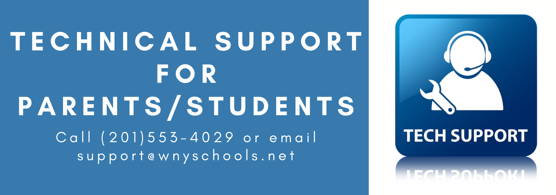 Tech Support for Parents/Students