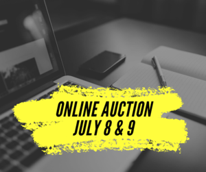 Online Auction July 8 & 9