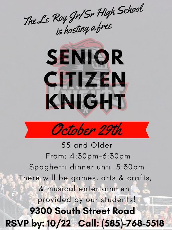 Senior Citizen Knight Featured Photo
