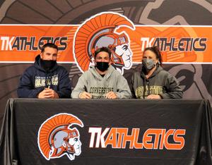 Nathan Hildabrand will play soccer at Cornerstone University.
