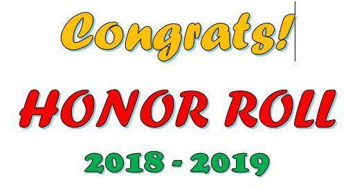 Honor Roll! Thumbnail Image