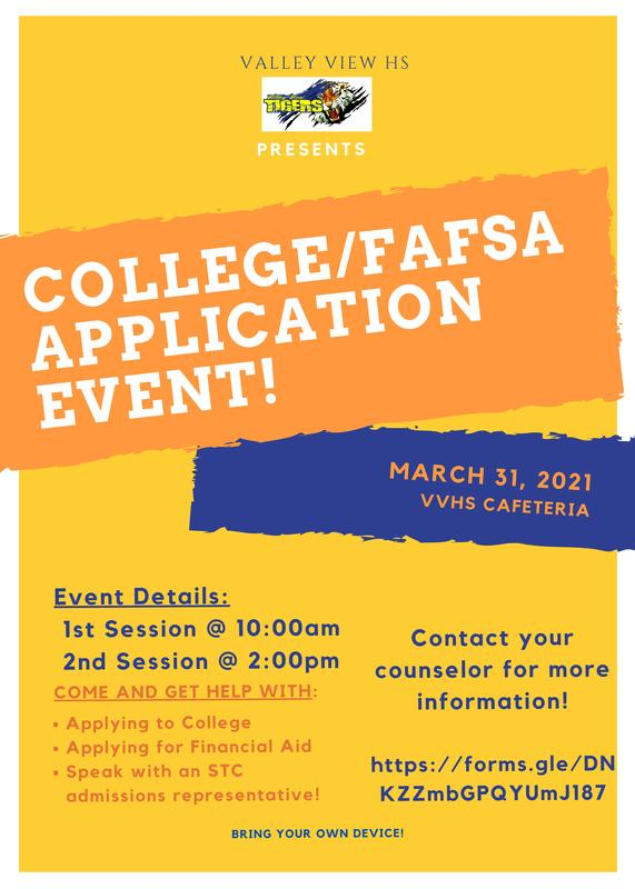 STC College/FAFSA Application Event Thumbnail Image