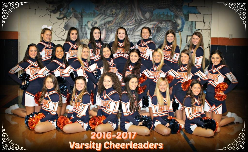 2016-2017 Varsity Cheerleaders