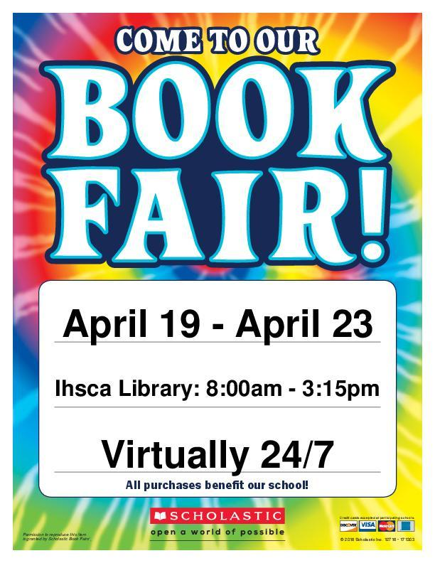 IHSCA Scholastic Book Fair! Featured Photo