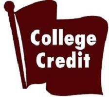 College Credit Graphic