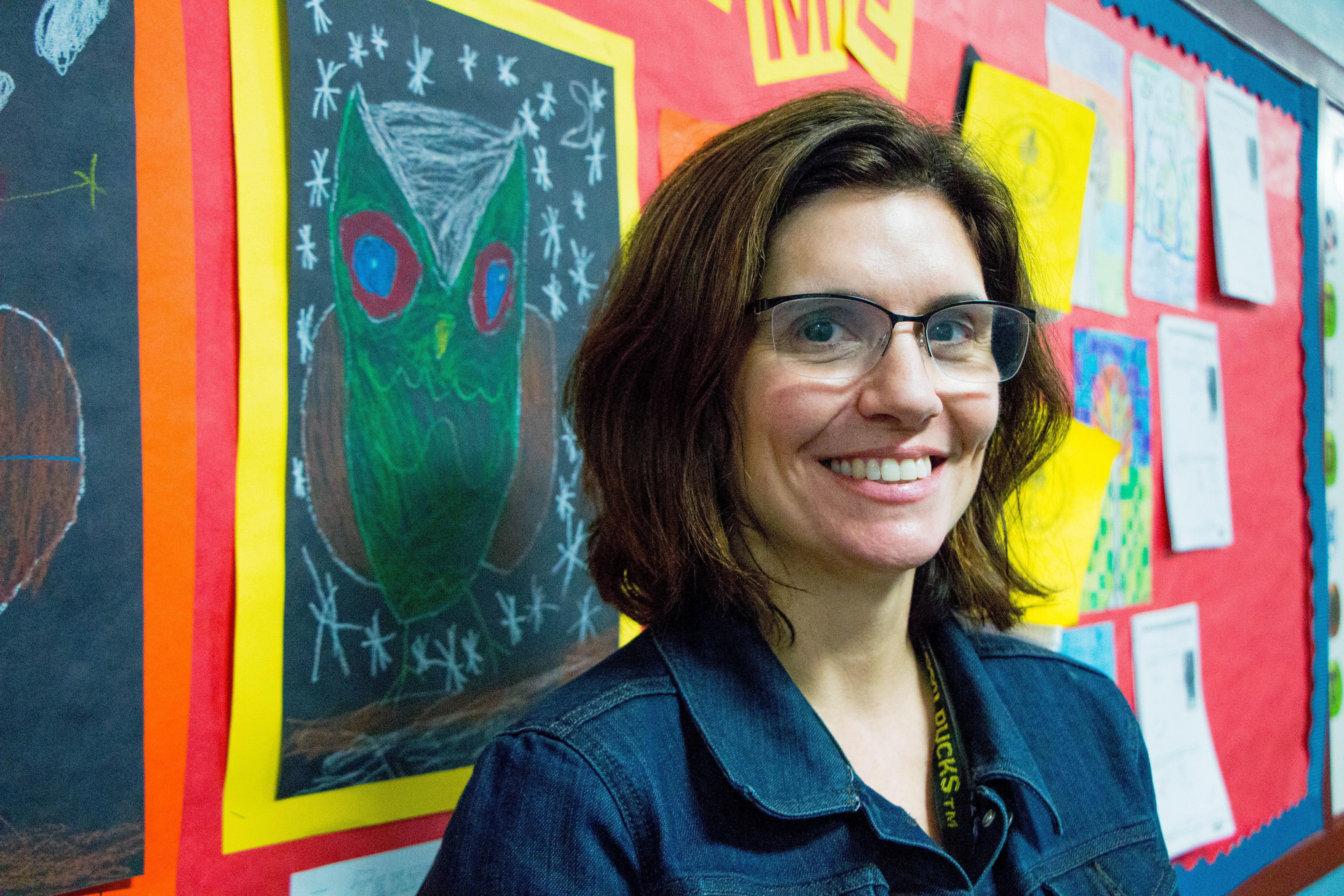 QES Principal Lara Hollister