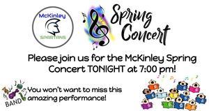 spring concert tonight