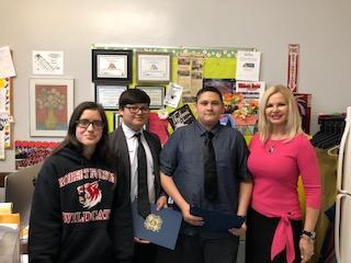 Congratulations to our Patriot's Pen Essay Contest Winners!! Featured Photo