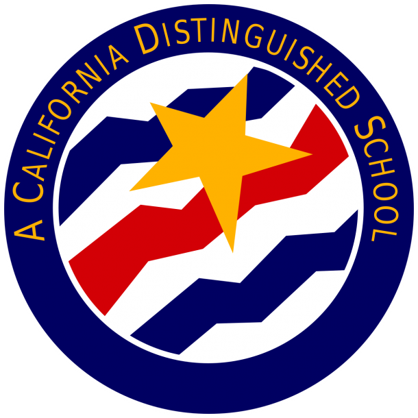 Logo for California Distinguished School