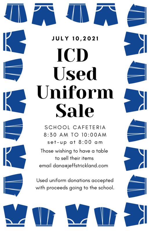 Used Uniform Sale - 7/10/2021 Featured Photo