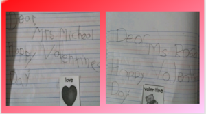 2 Valentine's day letters
