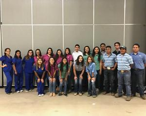 VMHS FFA Chapter students