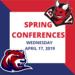 Spring Parent-Teacher Conferences are tomorrow, April 17, 2019.