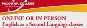 Palomar College: Ingles Como Segundo Lenguaje/ English As A Second Language Featured Photo