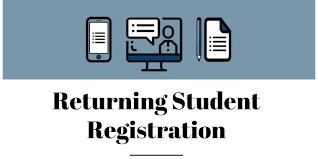 Returning Registration pic