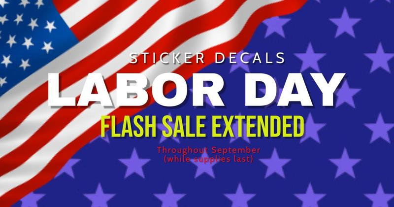 Sticker Flash Sale Extended Featured Photo