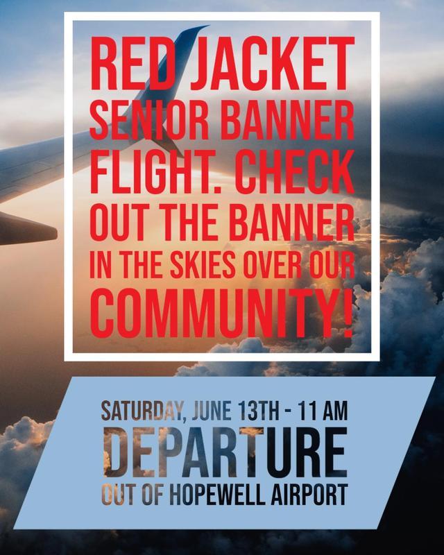 Red Jacket Senior Banner Flight