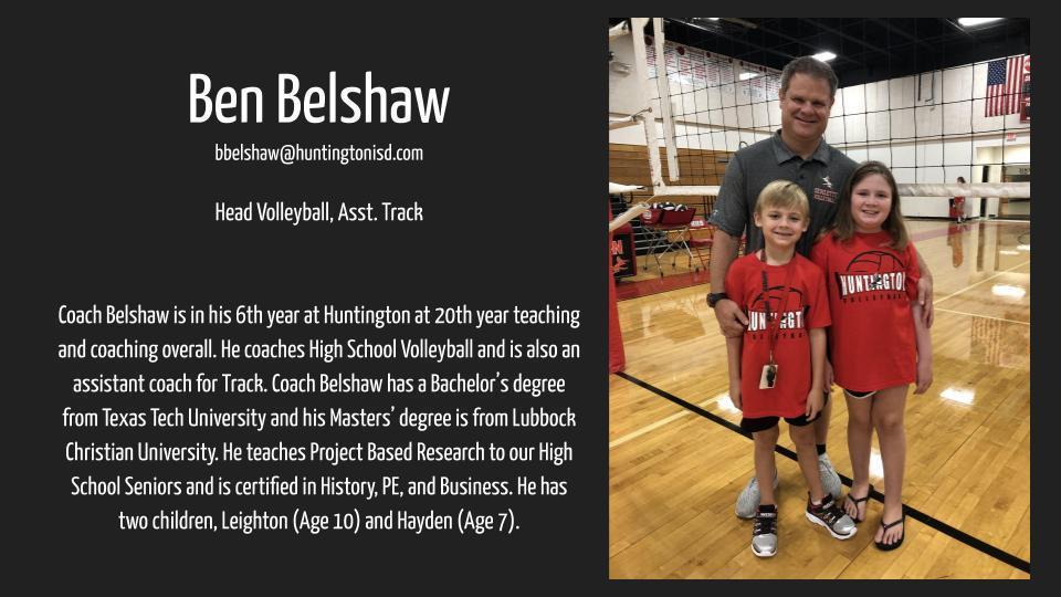 Ben Belshaw