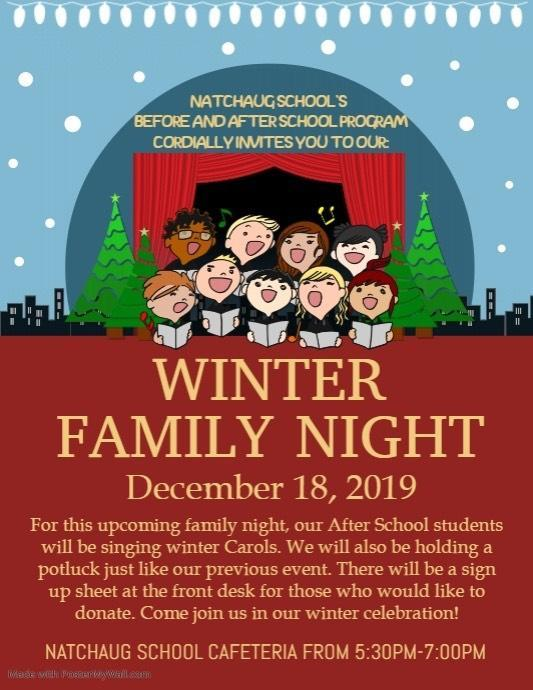 BASP Winter Family Night Thumbnail Image