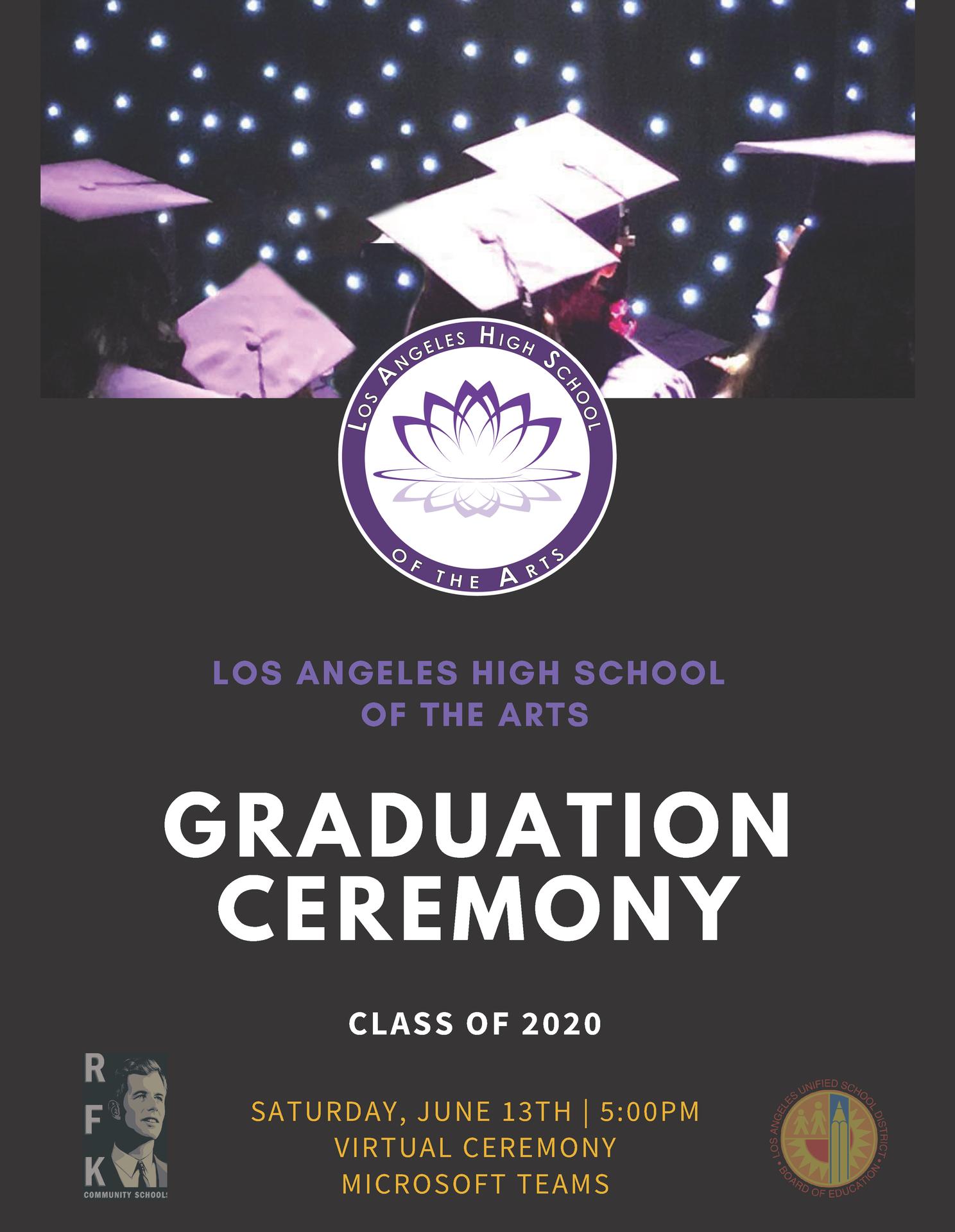 Graduation Program Announcement