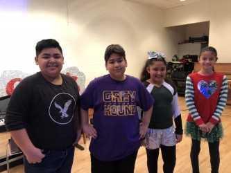 ASP Students- Robert, Jake, Milauna and Genesis