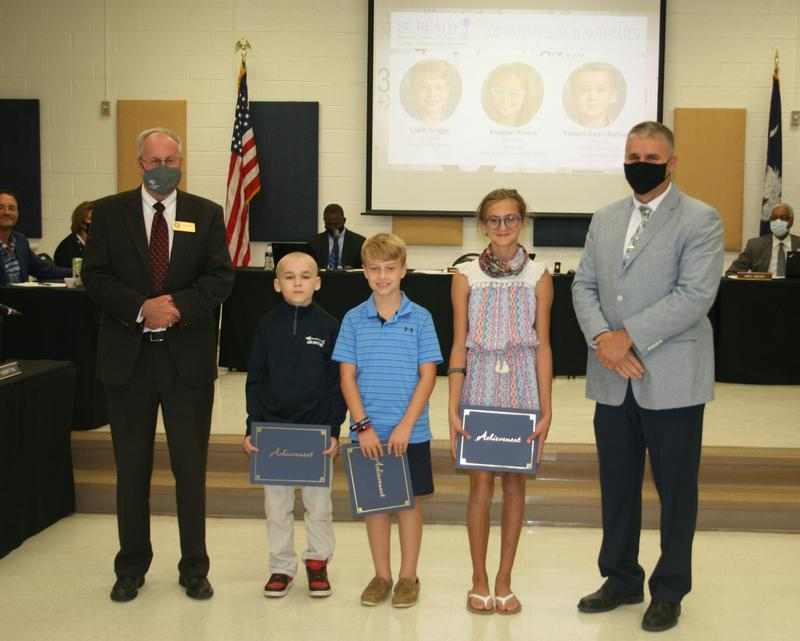 Students Recognized for Achieving Max Score Featured Photo