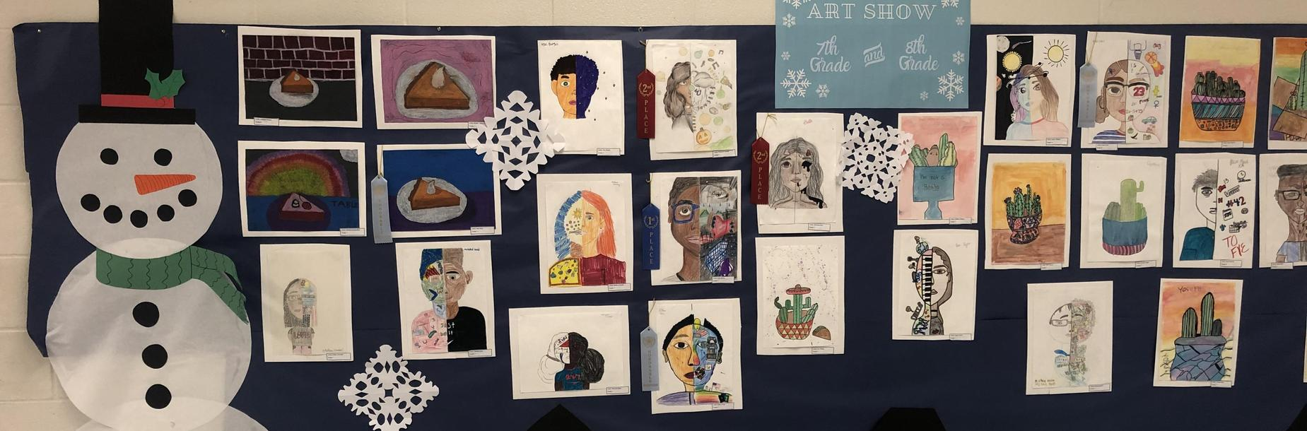 Art Show Winter 2019!