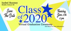 Virtual Graduation Flyer