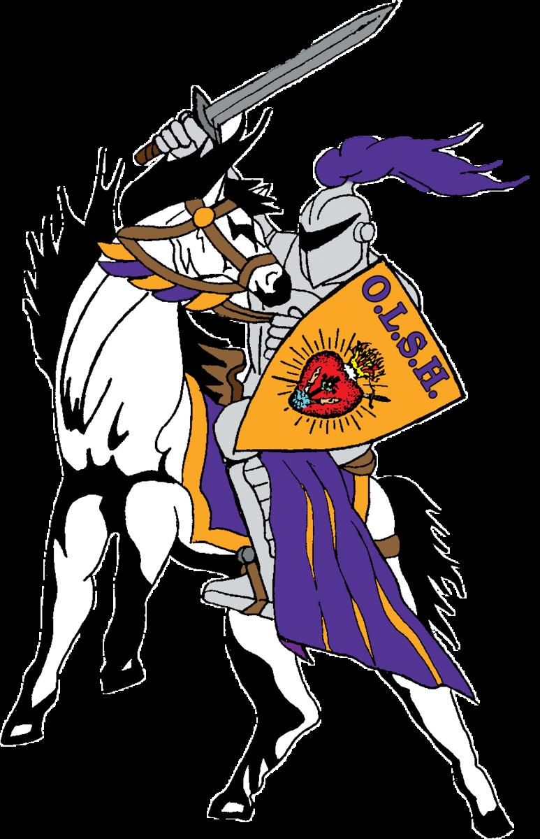 OLSH Charger mascot