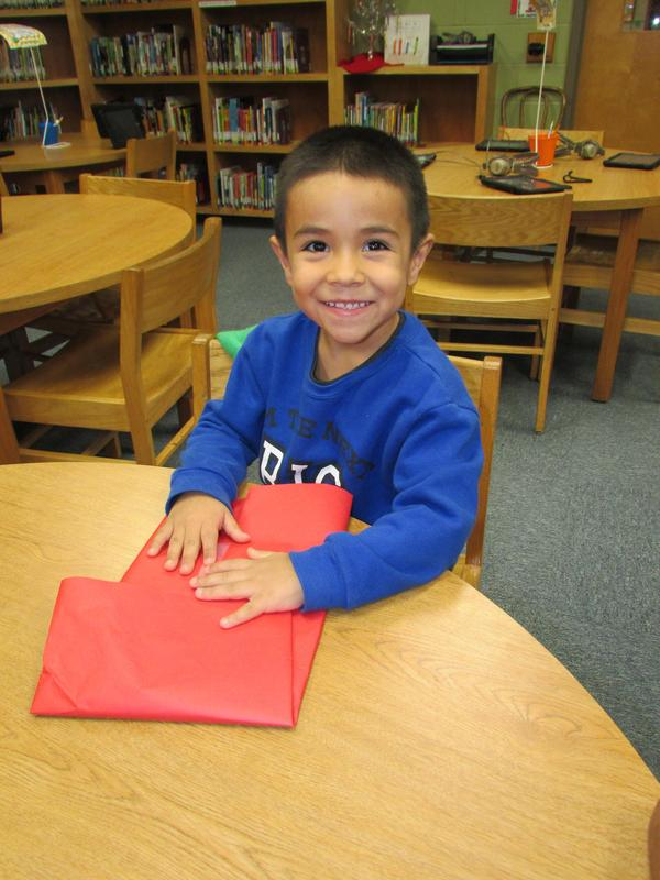Image of Kinder student