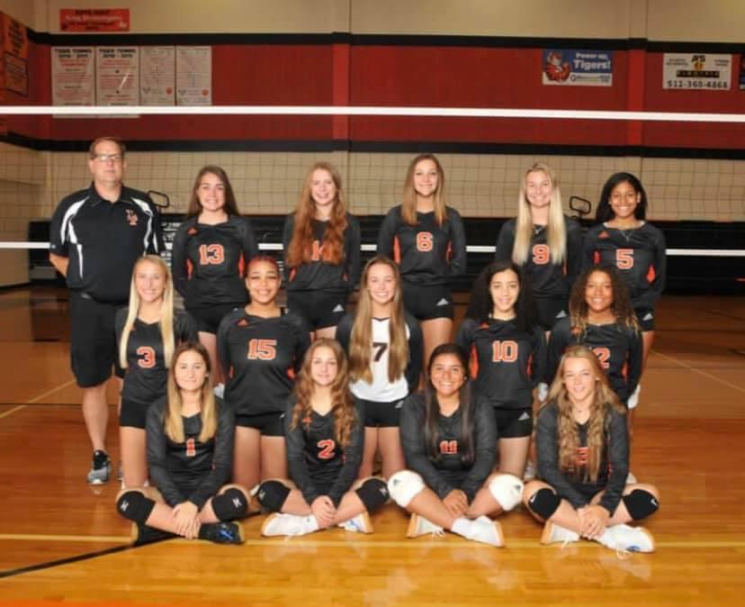 Lady Tiger Volleyball Team Photo