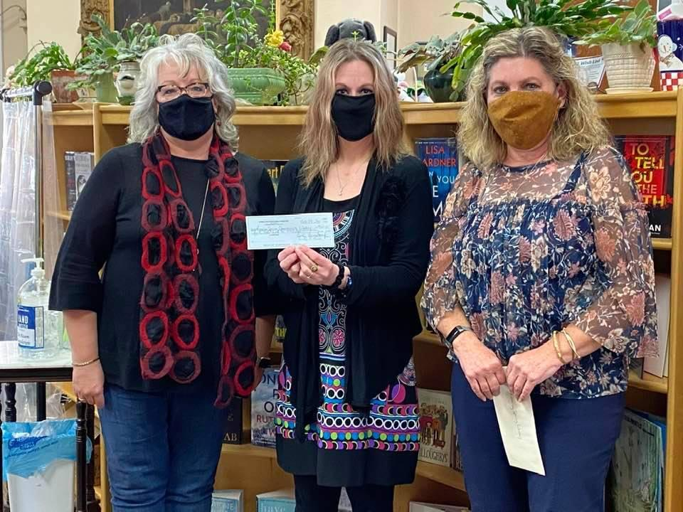 Roaring Spring Library Donation