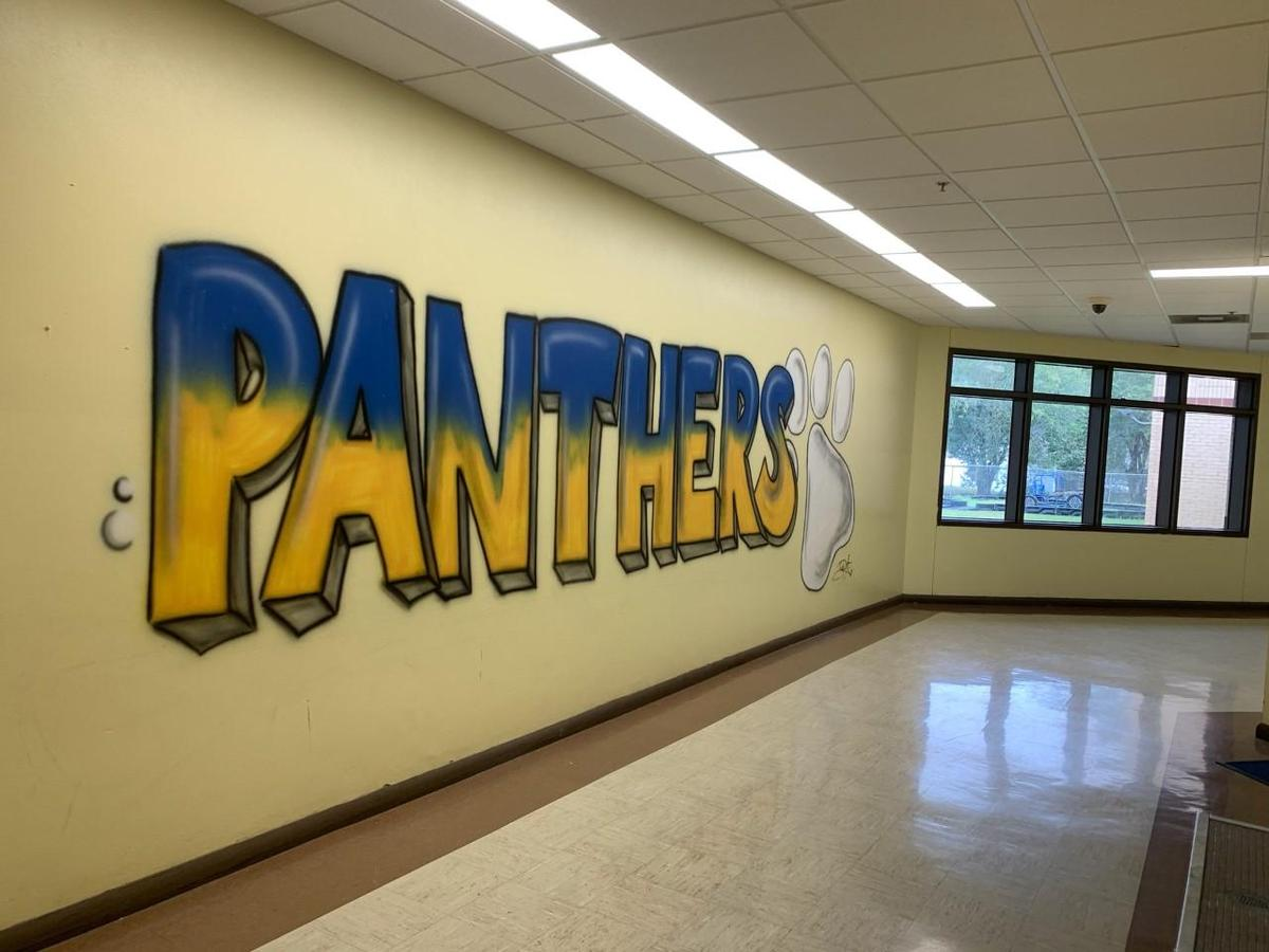 Panther Word Mural
