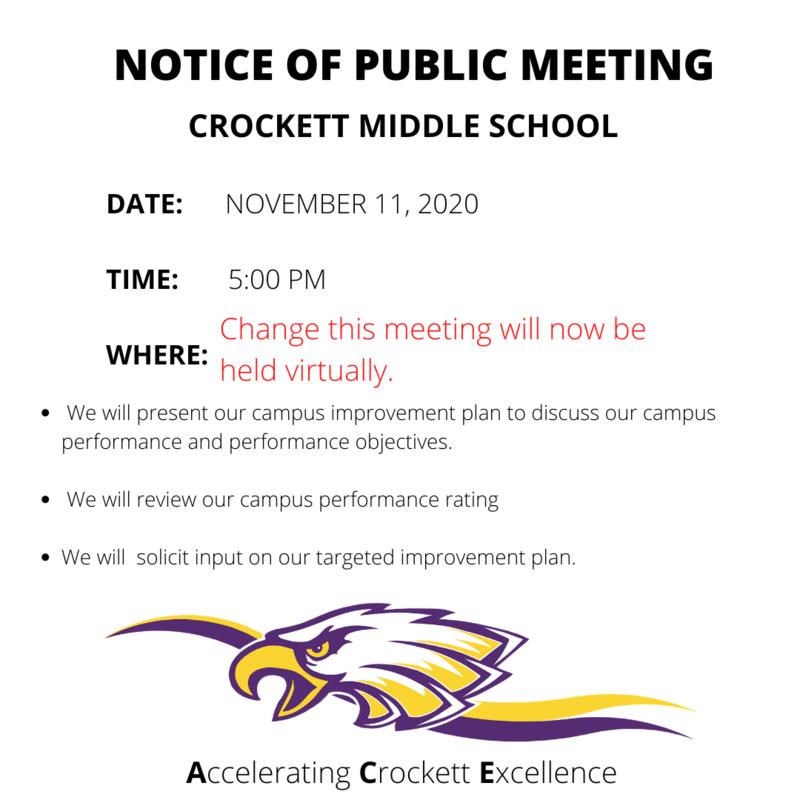 Notice of meeting.