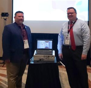 Tim Hammill & Matt Thomas presenting at AESA national conference.