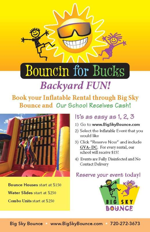 bounce house flyer