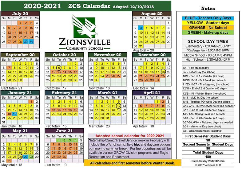 2020-21 School Year