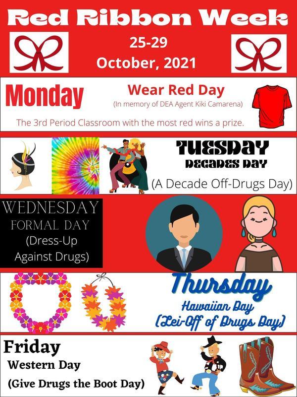 Red Ribbon Week 2021 Thumbnail Image
