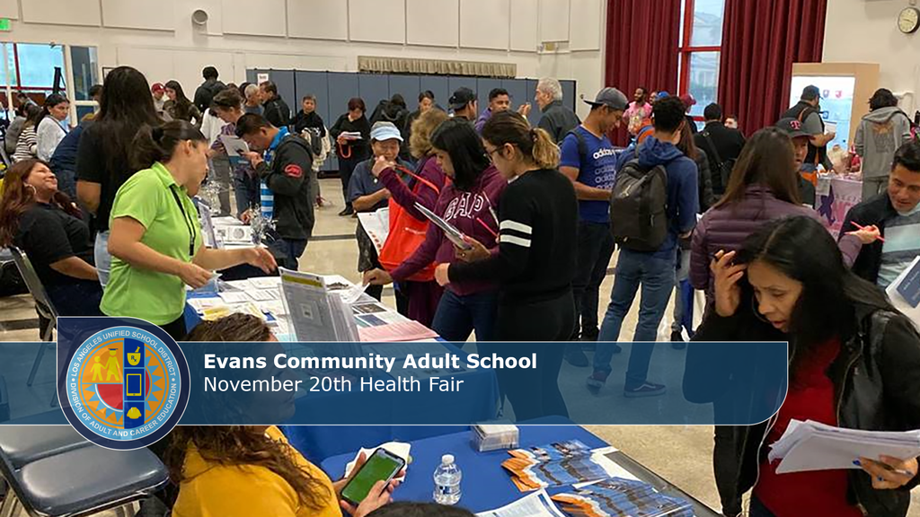 Evans Health Fair