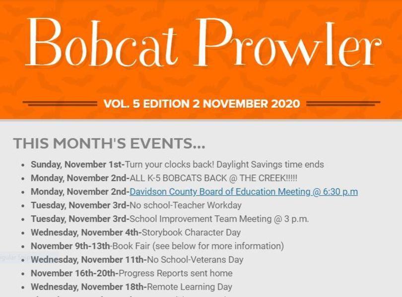 November Prowler