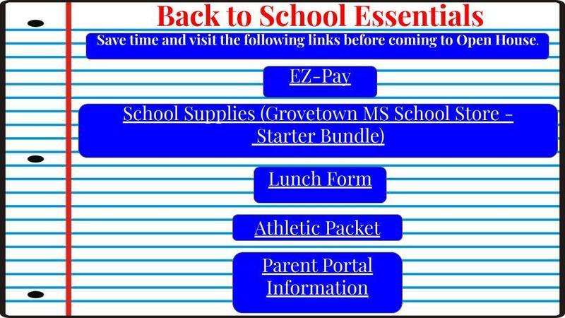 Back to School links