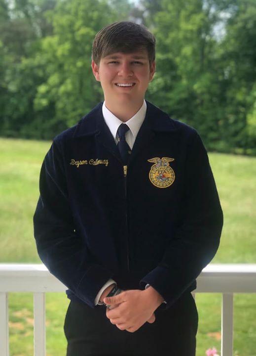 Bryan C. the new Regional Vice President of Future Farmers of America