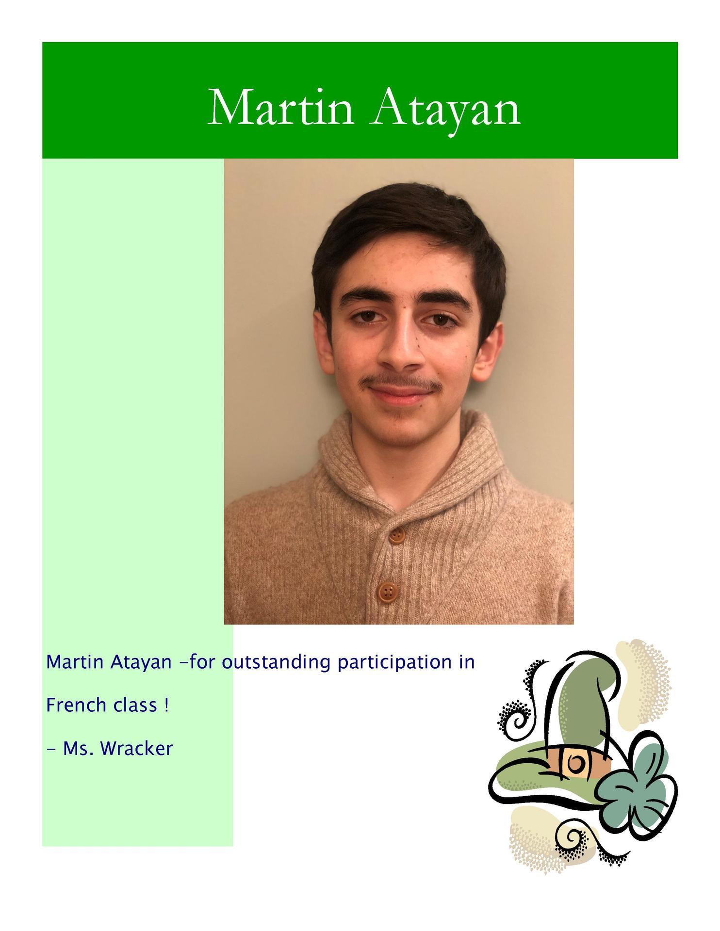 Image of Martin Atayan