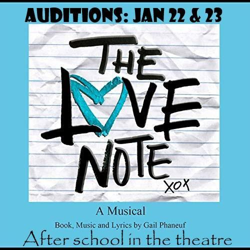 THS Sp[ring Musical Auditions